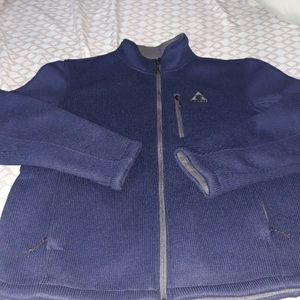 Mens lg excellent shape Gerry weber zip up jacket